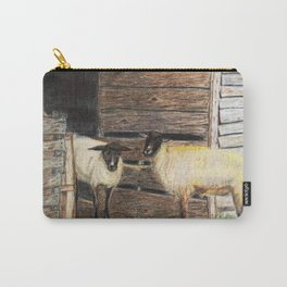 Curly and Moe Carry-All Pouch