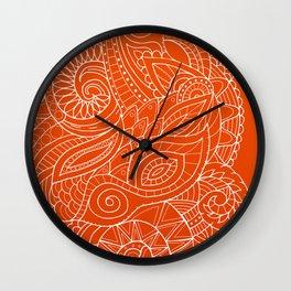 Hena II Wall Clock