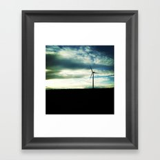 Out Standing In It's Field Framed Art Print