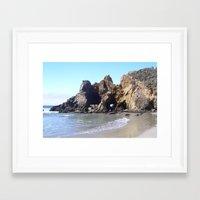 big sur Framed Art Prints featuring Sur by Drifter