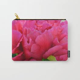 Dark Pink Tree Peony by Teresa Thompson Carry-All Pouch