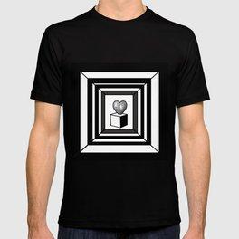 heart maze . T-shirt