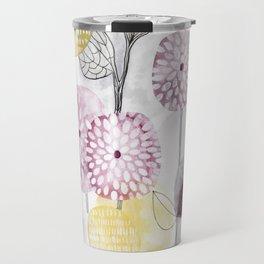 Petals and flowers Travel Mug