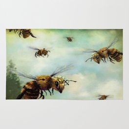 Crown of Bees Rug