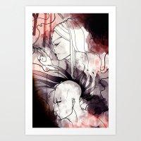 cyberpunk Art Prints featuring Cyberpunk by TheTaserMonkey