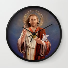 Saint Nicolas of Cage Wall Clock