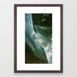 colagem Framed Art Print