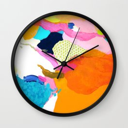 Clouds 2 Wall Clock