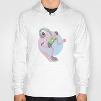 runner Hoodies featuring Runner by J.M. Benga