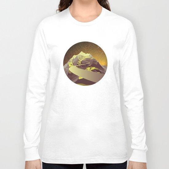 Night Mountains No. 9 Long Sleeve T-shirt