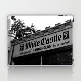 White Castle Hamburgers Laptop & iPad Skin
