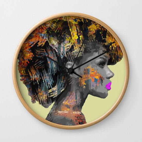 Afro-Girl by izakmugwe