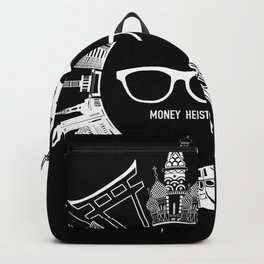 Money Heist - White Version Backpack