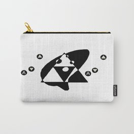 Ocarina (Negative/Positive Space) Carry-All Pouch