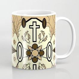 Brown Religion Illustration Coffee Mug