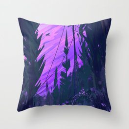 Clearing Throw Pillow
