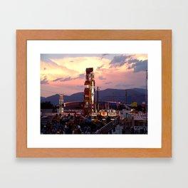 Fair Days Framed Art Print