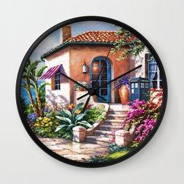 Tradis Art At The Beach House Wall Clock