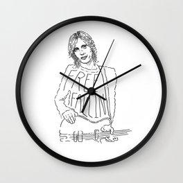 Tom Petty Free Fallin' Wall Clock