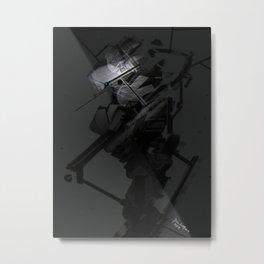Darkfall Tech Zero Degree Metal Print