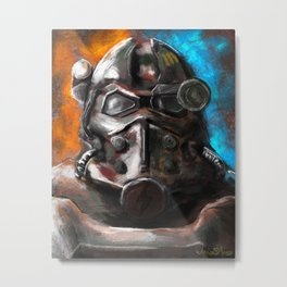 War Never Changes Metal Print