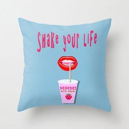 Milk shake  Throw Pillow