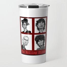 The Rolling Stones Travel Mug
