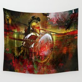 The Spartan Wall Tapestry