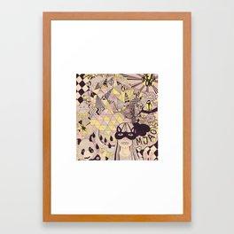 Mjao Framed Art Print