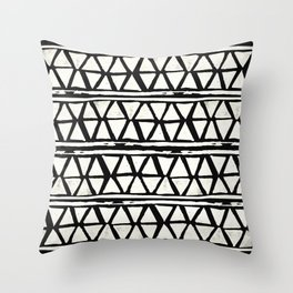 Tribal Geometric Band Throw Pillow
