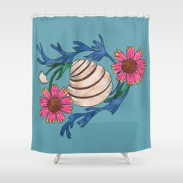 Pawleys Island Shell Shower Curtain