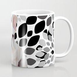 Cream Frenchie BNW Flower Burst Coffee Mug