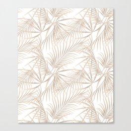 Palm leaves 4. Canvas Print