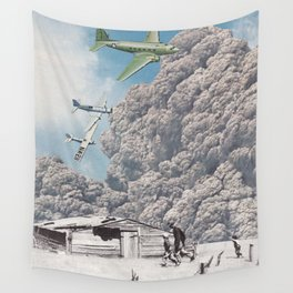 Bombing Wall Tapestry