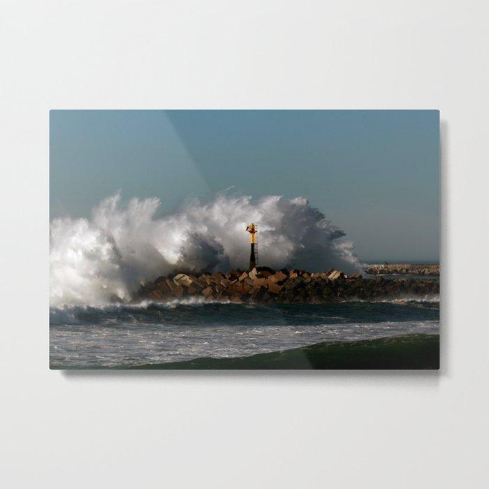 Blast Wave Metal Print