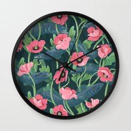 Barracuda - Midnight version Wall Clock