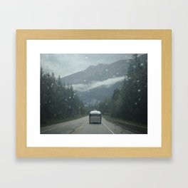Airstream Caravan Framed Art Print