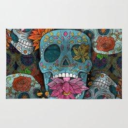 Sugar Skulls Art Rug