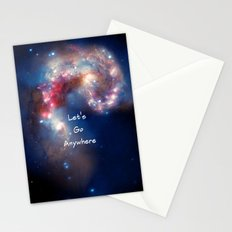 let's Go Anywhere Stationery Cards
