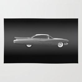 Cadillac Coupe De Ville - 1960 BW Rug