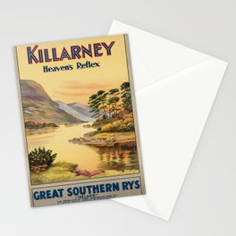 Vintage poster - Ireland Stationery Cards