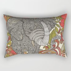 Bo the elephant Rectangular Pillow