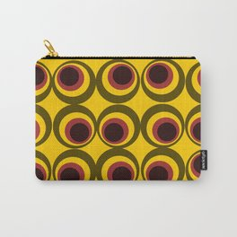 Psychedelic yellow Carry-All Pouch