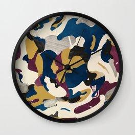 Gold Pattern Wall Clock