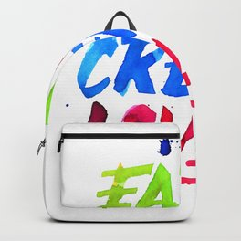 Eat, Create, Love. Backpack