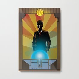 Doctor Who - Allons-y Metal Print