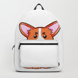 Corgi Dog Dogs Puppy Puppies Present Cute Backpack
