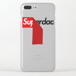 SUPERDAD Clear iPhone Case