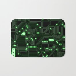 Computer Circuitry Bath Mat