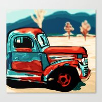 truck Canvas Prints featuring Truck  by Relic X